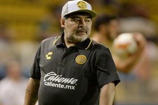 El Dorados de Sinaola de Maradona cayó goleado ante Atlante