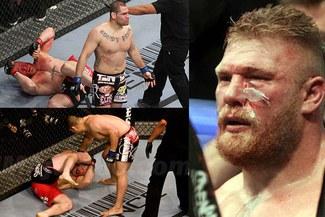 UFC: Caín Velásquez y su inolvidable paliza a Brock Lesnar [VIDEO]