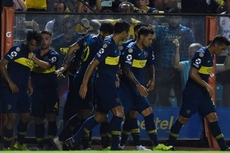 Boca Juniors vs Lanús EN VIVO: así fue el gol de Emmanuel Mas para el 1-0 en Argentina [VIDEO]