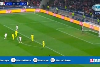 Barcelona vs Lyon ONLINE: Marc Ter Stegen y la espectacular atajada para enmendar su error por la Champions League [VIDEO]