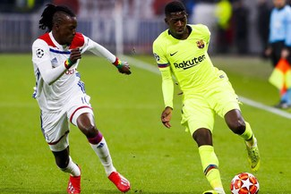 Barcelona y Lyon empataron 0-0 por la ida de los octavos de final de la Champions League [RESUMEN]