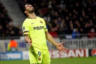 Luis Suárez y una racha desesperante: lleva 16 partidos sin marcar fuera de casa en Europa
