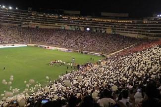 Universitario jugará contra Piratas con todas las tribunas del Monumental habilitadas