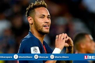 Champions League: Neymar superó lesión y estará presente ante Manchester United