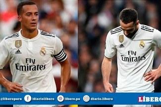 Real Madrid confirmó lesiones de Dani Carvajal y Lucas Vázquez