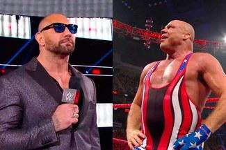 WWE RAW: Batista y Kurt Angle confirmaron su retiro en Wrestlemania 35 [VIDEOS]