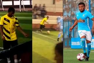 Sporting Cristal: Johan Madrid es captado jugando 'El Mundialito de La Perla' [VIDEO]