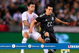 México venció 3-1 a Chile en amistoso internacional por fecha FIFA [VIDEO GOLES]