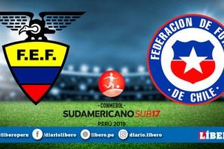 Ecuador vs Chile EN VIVO por la jornada 3 del Sudamericano Sub-17
