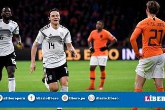 Alemania venció 3-2 a Holanda en partidazo por las Eliminatorias a la Euro 2020 [RESUMEN Y GOLES]