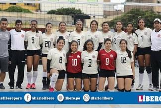 ¡Chicas con garra! Equipo de vóley de Universitario ascendió a la Liga Intermedia