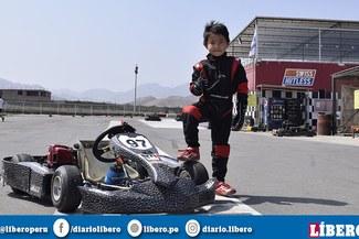 ¡Juan Diego Shimabukuro la rompe en la Baby Kart!
