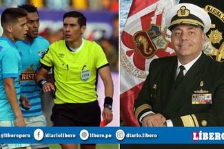 Insólito: Un Marino estuvo a cargo de la Comisión Nacional de Árbitros en la Liga 1