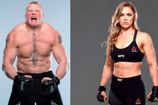 ¿No van más? La razón por qué Brock Lesnar y Ronda Rousey no figuran en más eventos de la WWE