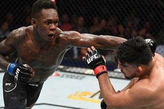 UFC: ¡Lo consiguió! Israel Adesanya derrotó a Kelvin Gastelum y es nuevo campeón interino del UFC 236 [VIDEO]