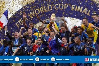 Alan García y la vez que felicitó a Francia por coronarse campeón del Mundo [FOTO]