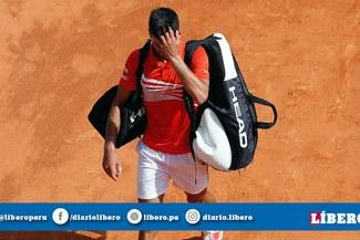 Novak Djokovic fue eliminado del Masters de Montecarlo por el ruso Daniil Medvedev