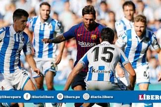 Barcelona vs Real Sociedad EN VIVO: Partidazo por la Liga Santander