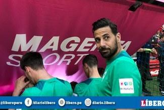 Claudio Pizarro regresó al Allianz Arena y Bayern Múnich lo recibió con este mensaje