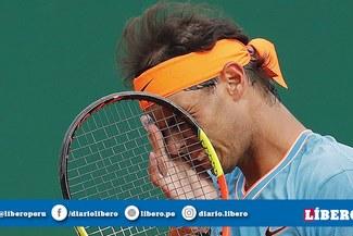 ¡Qué decepción! Rafael Nadal cayó ante Fabio Fognini y es eliminado del Masters de Montecarlo