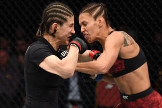 UFC: Antonina Shevchenko perdió por decisión dividida ante Roxanne Modafferi en San Petersburgo