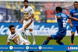 Cruz Azul, con Yoshimar Yotún todo el partido, venció 2-1 a Pumas por el Clausura de la Liga MX [RESUMEN Y GOLES]