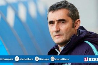 """Ernesto Valverde: """"Cuando vas muy sobrado al final parece que ganar es previsible"""""""
