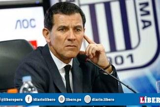 Gustavo Zevallos aseguró que el objetivo de Alianza Lima es clasificar a la Sudamericana