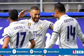 Jugadores del Real Madrid discutieron tras la victoria ante el Athletic Bilbao