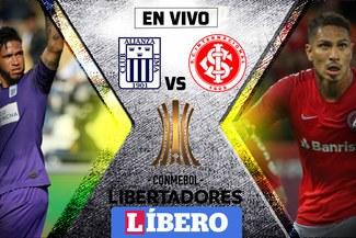 Alianza Lima vs. Internacional EN VIVO: con Paolo Guerrero, duelo clave por la Copa Libertadores