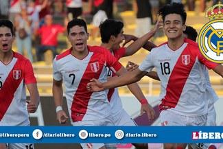 ¡BOMBA! ¿Jugador de la Selección Peruana sub 17 puede jugar en el Real Madrid? [VIDEO]