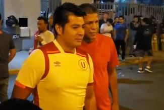 Universitario vs. Sporting Cristal: Jose Luis el 'Puma' Carranza llegó al Nacional para alentar a Universitario [VIDEO]