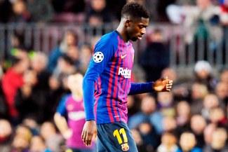 Ousmane Dembélé se volvió a lesionar con el Barcelona previo a duelo con Liverpool [VIDEO]