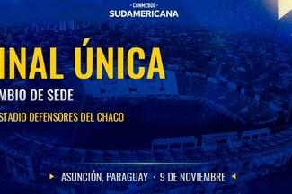 Final de la Copa Sudamericana ya no se jugará en el Estadio Nacional de Lima confirmó Conmebol