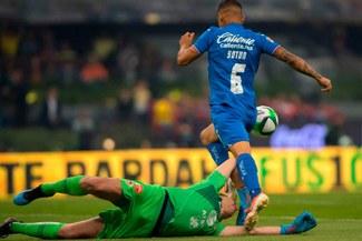 América superó 3-1 a Cruz Azul en la ida de los cuartos de final del Clausura de la Liga MX [RESUMEN Y GOLES]