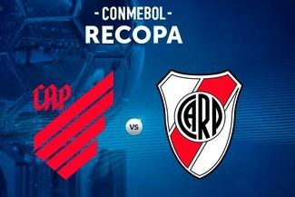 River Plate vs Paranaense: hora, día y canal por la final de ida de la Recopa Sudamericana