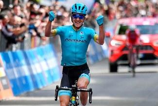 Giro de Italia 2019: Pello Bilbao triunfa en la etapa 7, Conti sigue líder