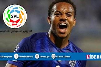"""André Carrillo postula para ser el """"Mejor Jugador"""" de la liga de Arabia Saudita"""