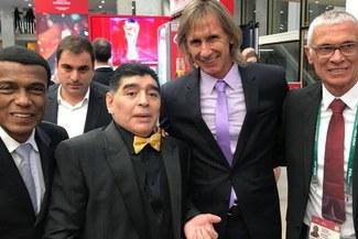 Ricardo Gareca contó divertida anécdota junto a Diego Armando Maradona [VIDEO]