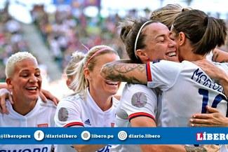Olympique se corona campeón de la Champions League Femenina tras ganar por 4-1 al Barcelona