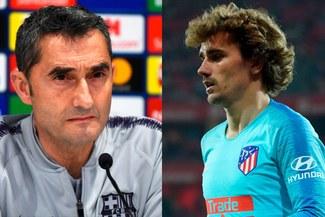 Ernesto Valverde habló sobre el posible fichaje de Antoine Griezmann por Barcelona