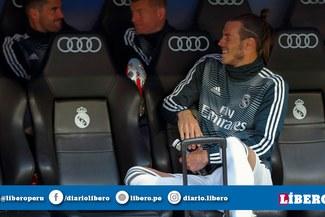 ¡Increíble! Gareth Bale se ríe en el banquillo mientras Real Madrid perdía [VIDEO]