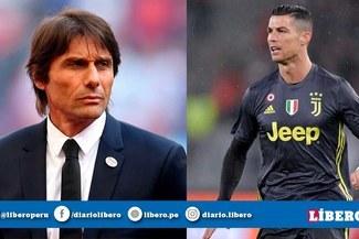Cristiano Ronaldo en contra de que regrese Antonio Conte a la Juventus