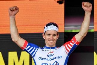 Arnaud Demare y su emotivo mensaje tras ganar la décima etapa [VIDEO]