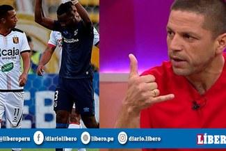 Pedro García y su reacción tras la goleada de Melgar en la Copa Sudamericana