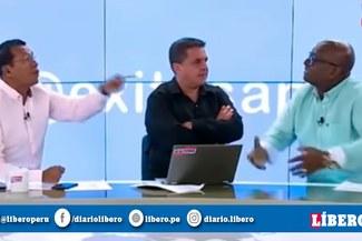 """""""Tigrillo"""" Navarro y su tensa discusión con Elejalder Godos que casi llega a las manos [VIDEO]"""