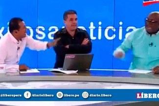 Carlos Alberto Navarro encaró a Elejalder Godos por haber sido señalado como asesor de la FPF [VIDEO]