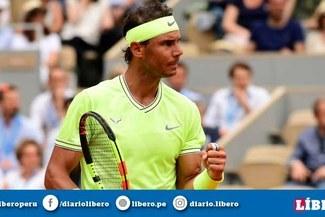 Rafael Nadal venció por 3-0 a Roger Federer y accedió a la gran final del Roland Garros