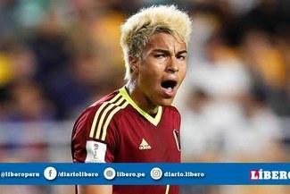 Selección venezolana anunció el reemplazo de Adalberto Peñaranda para la Copa América 2019