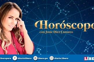 Horóscopo de Josie Diez Canseco HOY viernes 14 de junio 2019